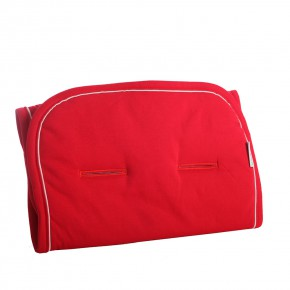 Minene памучна облегалка за количка - червено
