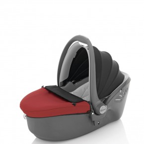 Britax Кош за кола - Romer Baby-SAFE Sleeper 0+ Chili Pepper-Black
