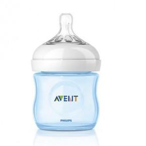 AVENT шише за хранене Natural 125ml PP - лимитирана серия синьо