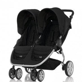 Britax Детска количка B-Agile Double Cosmos Black
