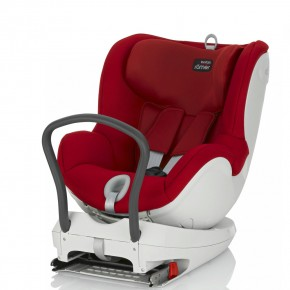 Britax Столче за кола - Römer Dualfix Flame Red