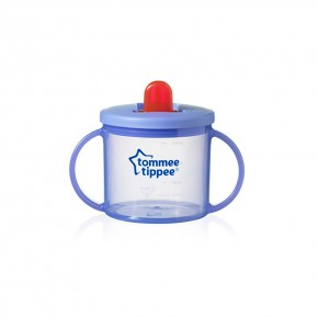 Tommee Tippee Чаша Essential Basics First Cup 4m+ лилава