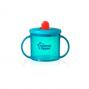 Tommee Tippee Чаша Essential Basics First Cup 4m+ синя