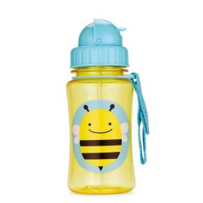 Skip Hop Детска бутилка със сламка Zoo