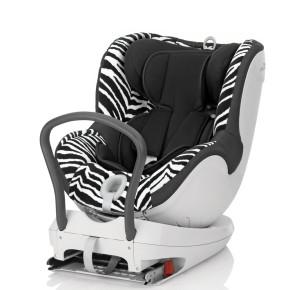 Britax Столче за кола - Römer Dualfix Smart Zebra