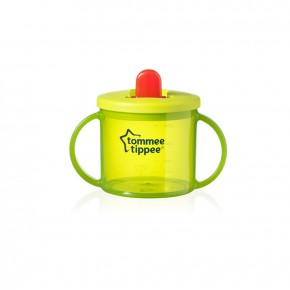 Tommee Tippee Чаша Essential Basics First Cup 4m+ зелена