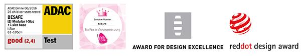 izi modular i-size award