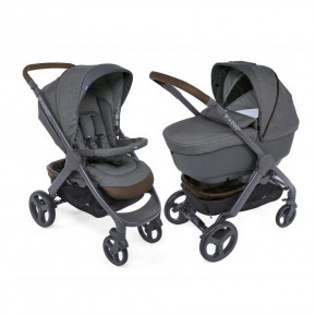 Chicco Duo StylGo Crossover детска количка 2 в 1 - Cool Grey