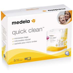 Medela торбички за микровълнова стерилизация Quick Clean