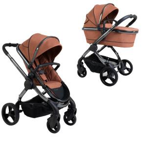 Бебешка количка 2 в 1 iCandy Peach 6 Phantom Terracotta Twill