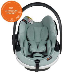 BeSafe iZi Go Modular X1 i-Size стол за кола - Sea Green Melange
