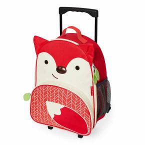 Skip Hop детска раница на колела Zoo Luggage - лисичето Фъргюсън