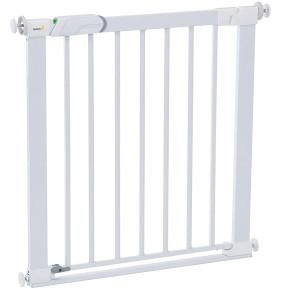 Safety 1st  Универсална метална преграда (плосък праг-1.1 см) за стълбища  SecurTech™ flat step metal gate