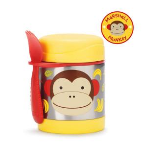 Skip Hop изолиращ контейнер за храна от неръждаема стомана - маймунката Маршал 252376