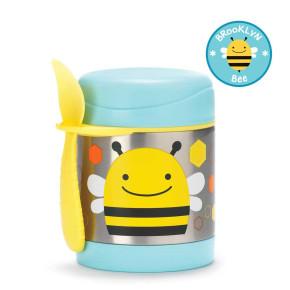 Skip Hop изолиращ контейнер за храна от неръждаема стомана - пчеличката Бруклин 252379