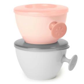 Купички за съхранение на бебешка храна SkipHop Easy-Grab Bowls Coral