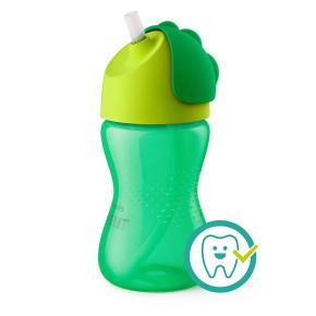 Philips Avent Straw Cup Bendy- бебешка чаша със сламка 300 мл SCF798/01