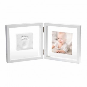 Baby Art My baby style рамка за снимка и отпечатък-бяла