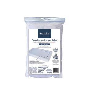 Candide водонепромокаем чаршаф за бебешки матрак Sleep Safe - 60/120 см