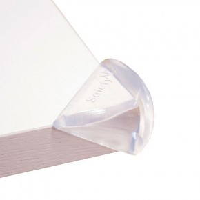 Safety 1st Меки прозрачни протектори за ъгли и ръбове 4 бр./оп.