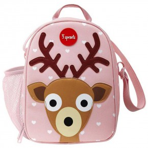 3Sprouts Lunch Bag детска чанта за обяд-Deer