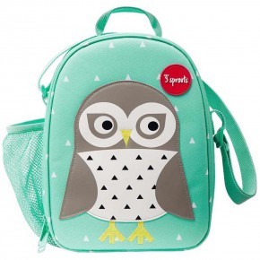 3Sprouts Lunch Bag чанта за обяд-Owl