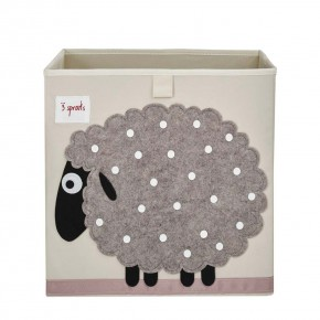 3 Sprouts Storage Box кутия за играчки - Sheep