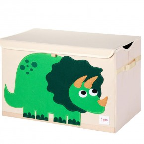 3 Sprouts Toy Chest кутия за играчки - Dinosaur