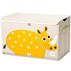 3 Sprouts Toy Chest кутия за играчки - Rhino