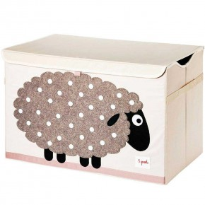 3 Sprouts Toy Chest кутия за играчки - Sheep