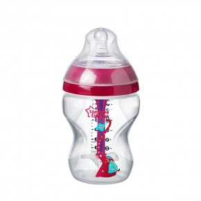 Tommee Tippee Anti-Colic шише за хранене 260 мл, 0 м+