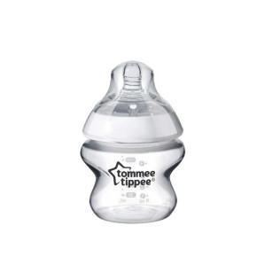 Tommee Tippee шише за хранене Easi-Vent 150 мл, 0-2 м+, биберон с бавен поток Extra Slow