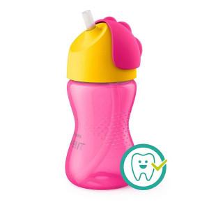 Philips Avent Straw Cup Bendy- бебешка чаша със сламка 300 мл SCF798/02