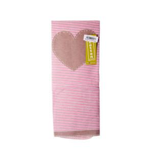 David Fussengger Одеяло Juwel Сърце 70 x 90 - Розово