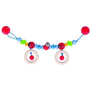 Heimess Дървена играчка за количка - Ladybird