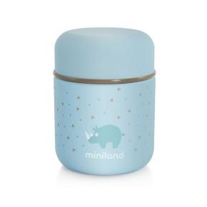 Miniland Baby Silly Food Thermos Mini термос за храна 280 мл - син