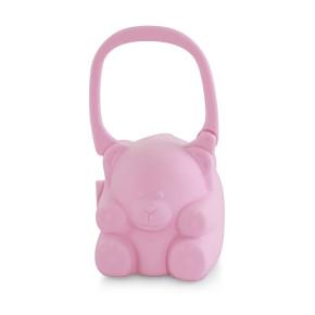Miniland Baby Кутия за залъгалка - светло розова