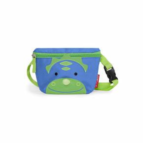 Skip Hop Zoo Hip Pack детска чантичка - Динозавърчето Дакота