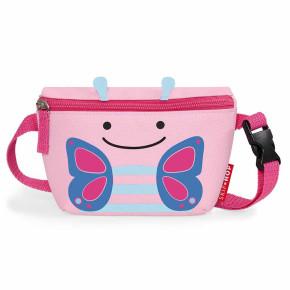 Skip Hop Zoo Hip Pack детска чантичка - Пеперудката Блосъм