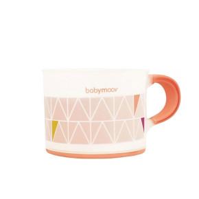 Babymoov My first tableware чаша с дръжка - розово