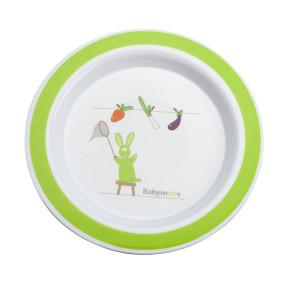 Babymoov чиния за хранене Зелена