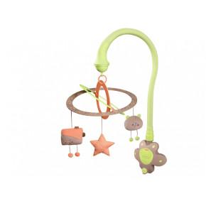 Babymoov музикална въртележка за кошара Starlight бадем