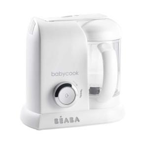 BÉABA Babycook ® Solo уред за приготяне на бебешка храна 4 в 1 - White-Silver
