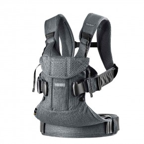 BabyBjorn Baby Carrier One Air ергономична раница - Anthracite 3D Mesh