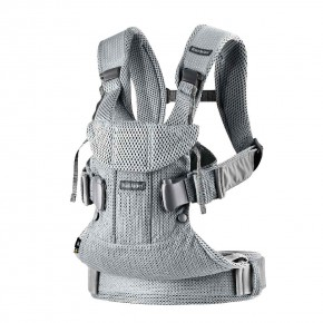 BabyBjorn Baby Carrier One Air ергономична раница - Silver 3D Mesh