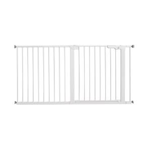 BabyDan Premier Pressure - Extra Wide обезопасителна преграда - White