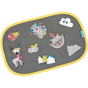Babymoov Badabulle Smart Sunshades сенници за автомобил - 2 бр + стикери