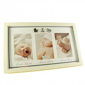 The Juliana Collection Фото рамка за 3 снимки First Photo Frame