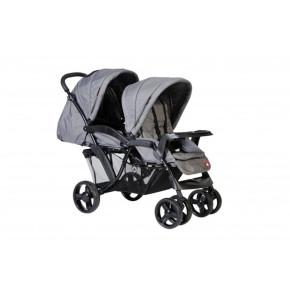 Topmark детска количка за близнаци или породени деца Riley