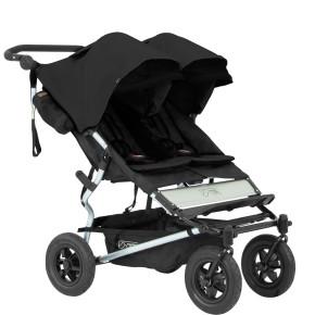 Mountain Buggy Детска количка за близнаци Duet Black